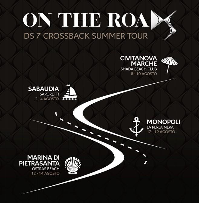 DS 7 CROSSBACK Summer Tour