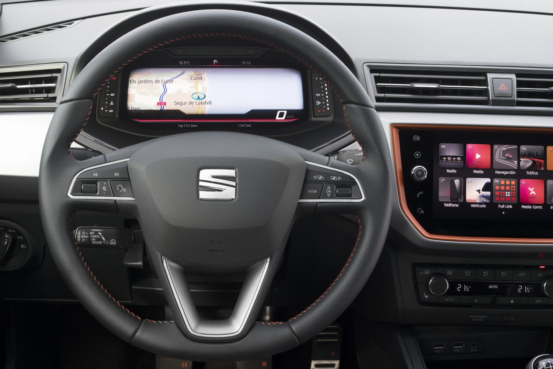 Seat introduce il Digital Cockpit su Arona e Ibiza
