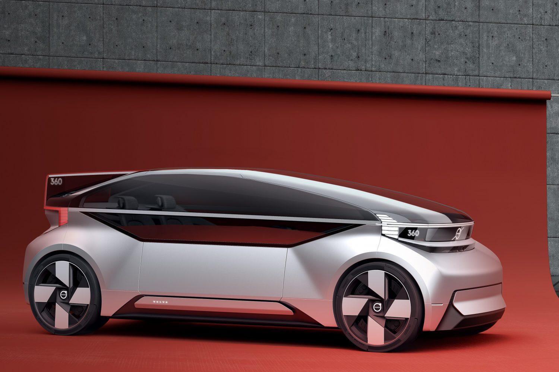 Volvo 360c concept, l'auto che sostituisce l'aereo