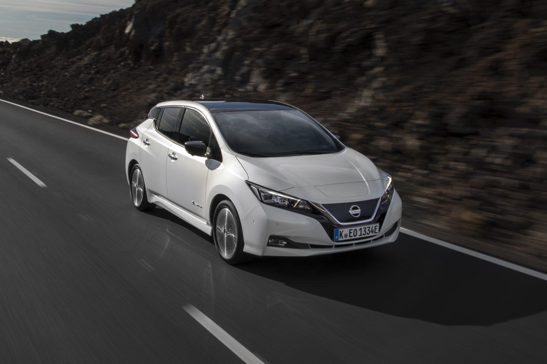Nissan LEAF super premiata