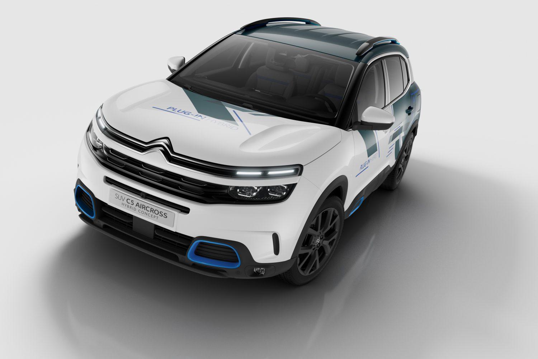 Citroën C5 AircrossHybrid Concept, verso l'elettrificazione completa della gamma