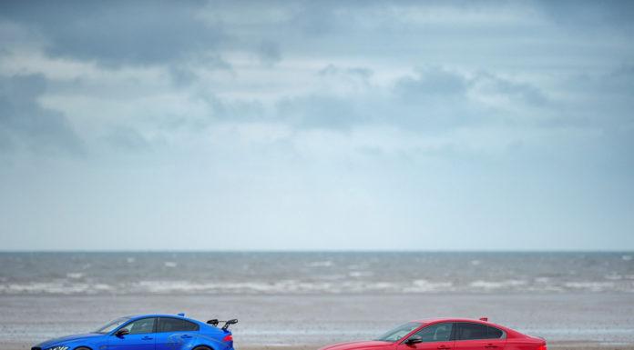 Jaguar XE 300 Sport e Jaguar Project 8