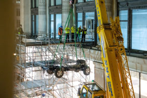 Un'edizione speciale della Land Rover Defender a Londra