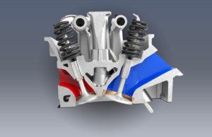 Variable-valve timing (VVT) on the 3.6-liter Pentastar V-6 and 5