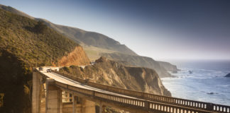 Highway 1 from Castroville to Big Sur, California