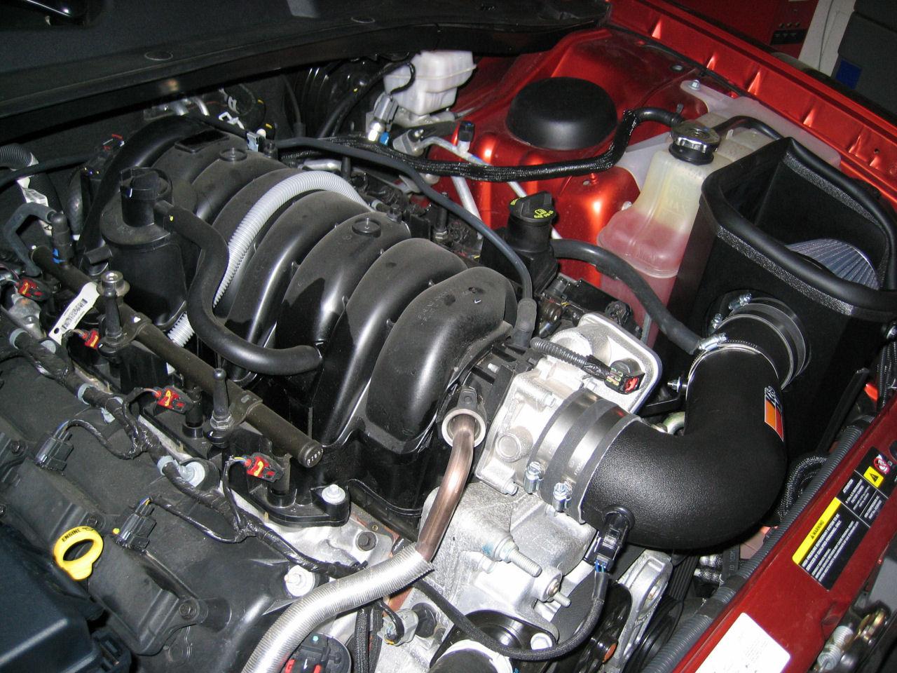 2006 Dodge Charger R/T Daytona: kit aspirazione diretta K/N