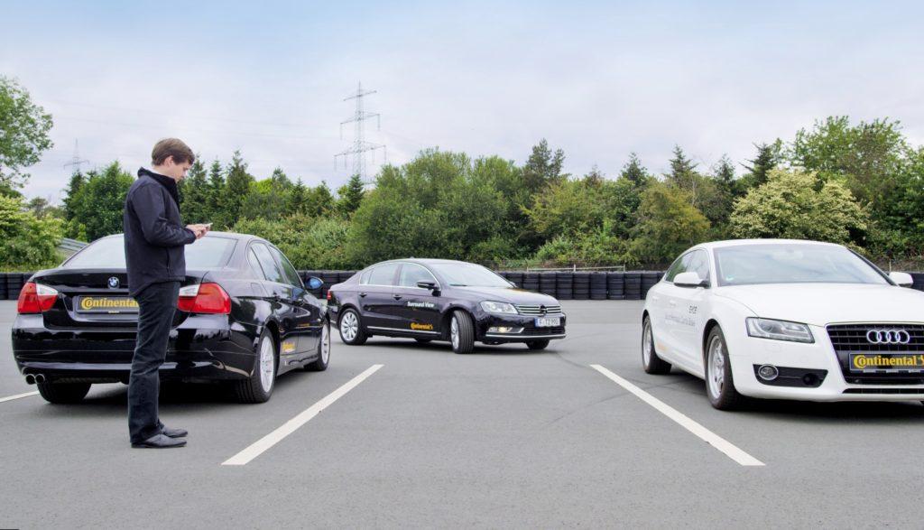 Col sistema Continental, presto le auto posteggeranno da sole...