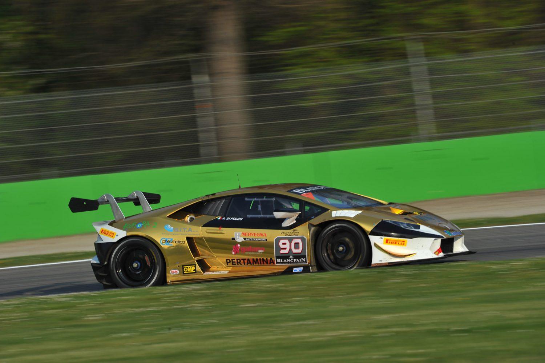 Lamborghini Super Trofeo, Monza, Italy 10 - 12 April 2015