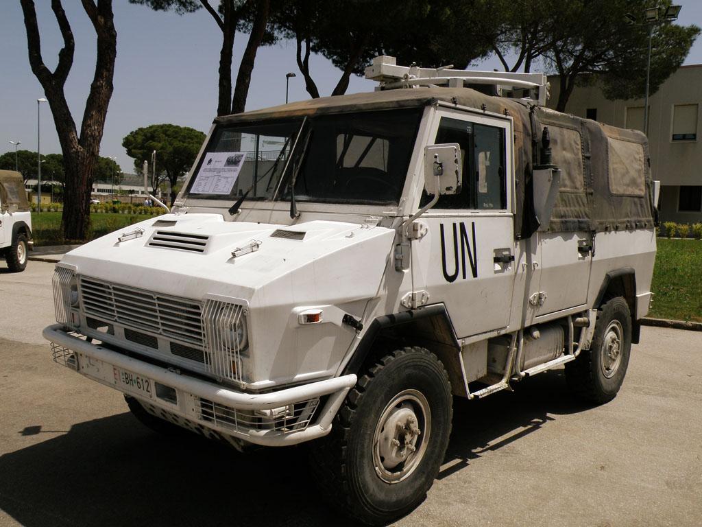 IVECO VM 90 nella livrea dell'ONU.