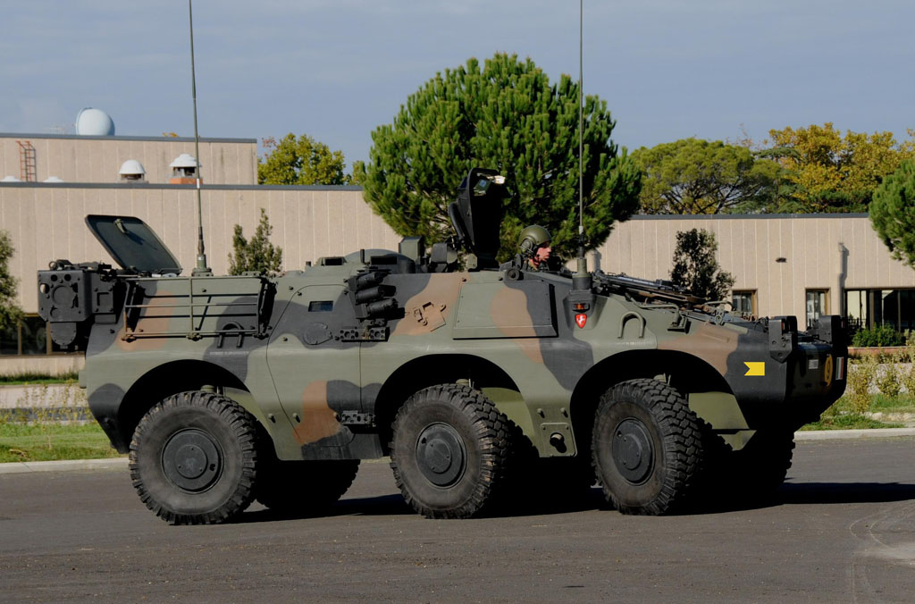 Il profilo del VBL Puma versione 6X6.