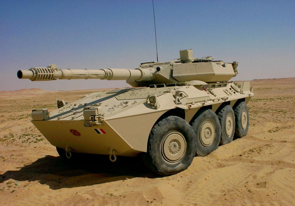Blindo armata B-1 Centauro in livrea desertica (foto: SME).