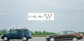 Equazione del trasferimento di carico in frenata