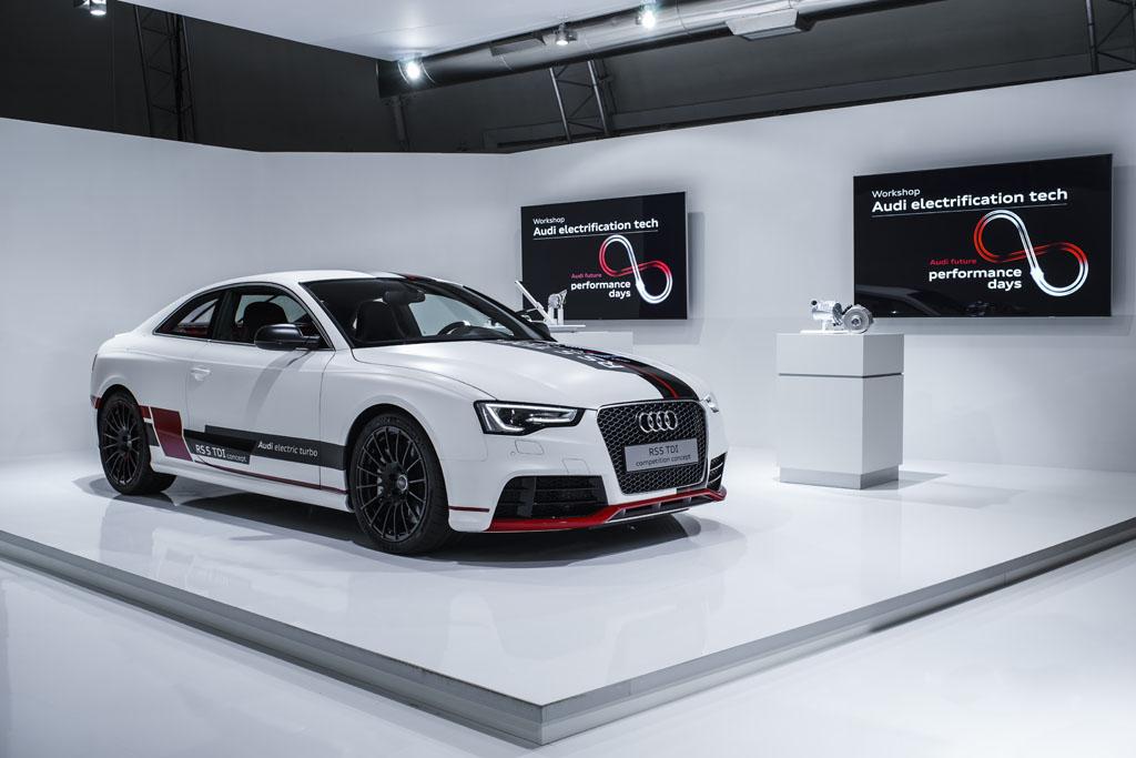 Audi e i motori ibridi