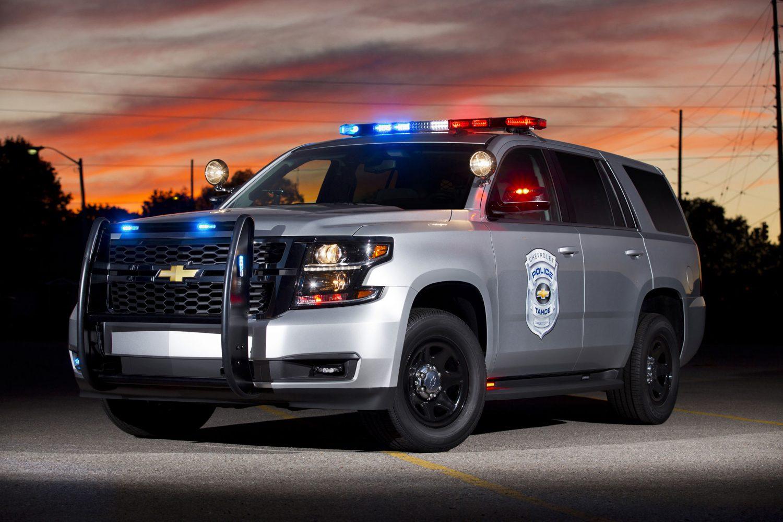 Chevrolet Tahoe Police Vehicle.