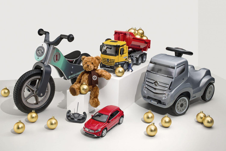 Le idee Mercedes per Natale