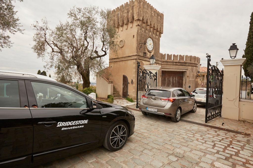 Bridgestone DriveGuard: vetture in prova