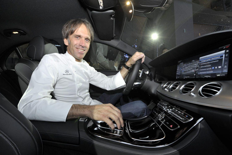 Mercedes Classe E e Davide Oldani