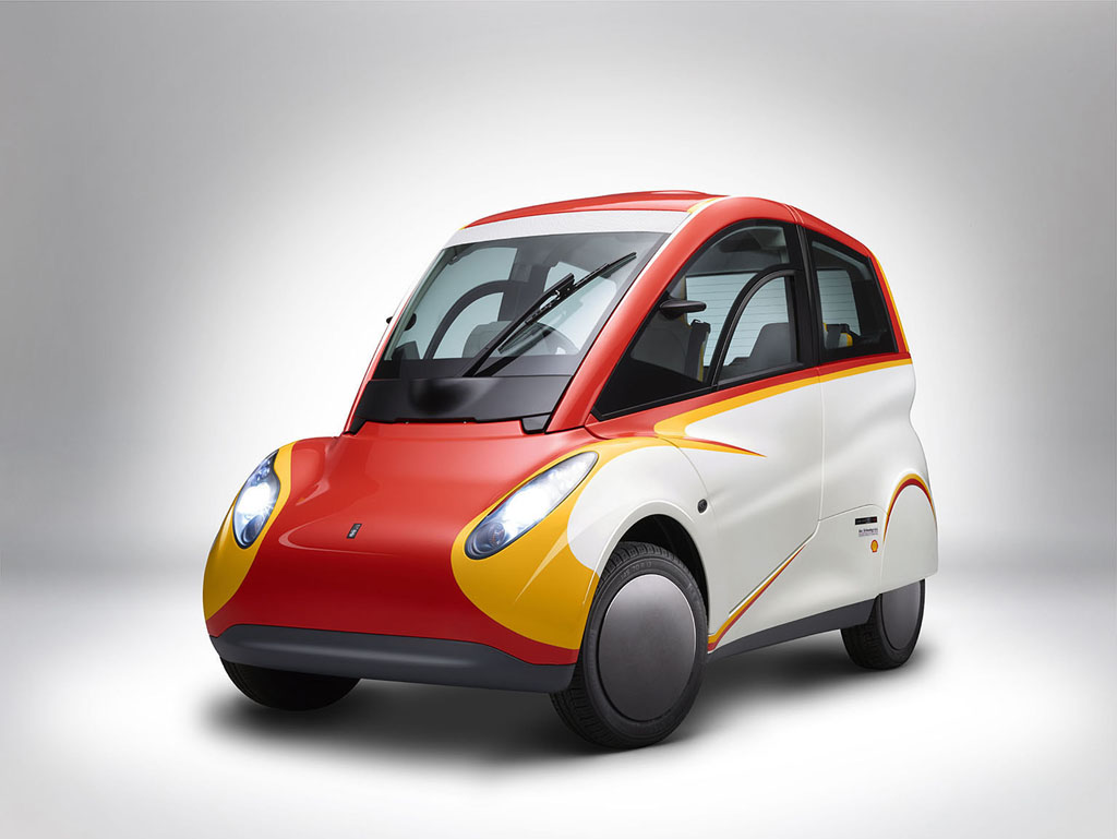 Shell Concept Car Side Angled