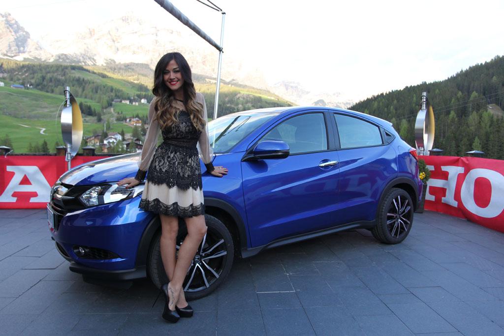 Honda HR-V e Giorgia Palmas