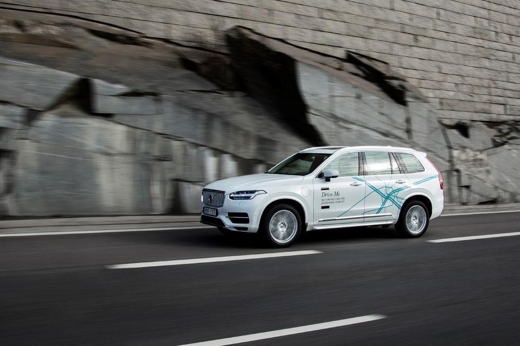 Volvo XC90 Drive Me