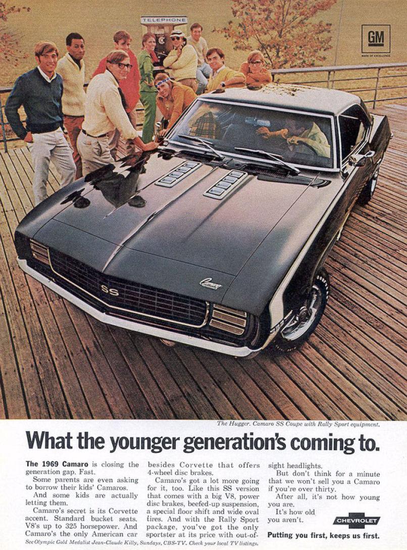 1968 Chevy Camaro: la Mustang non fa più paura