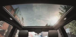 Range Rover Evoque Sky Wiev