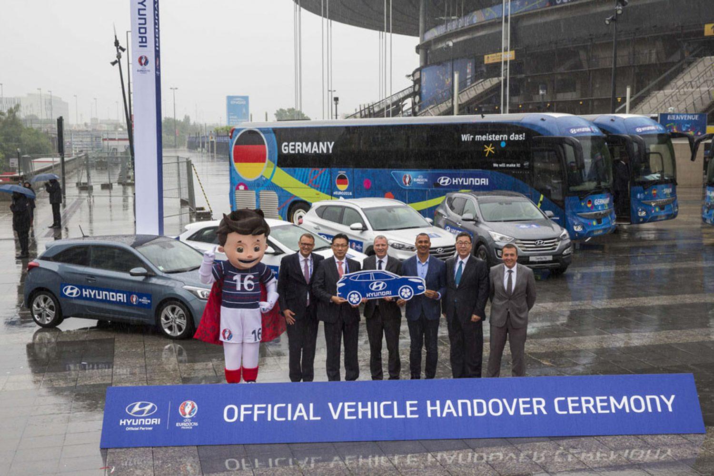 Hyundai e gli europei di calcio