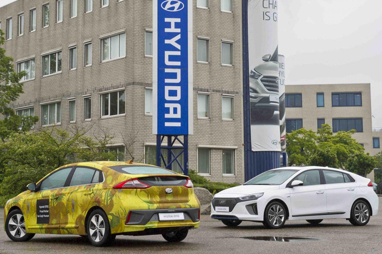 Hyundai Ioniq e il museo Vincent Van Gogh di Amsterdam