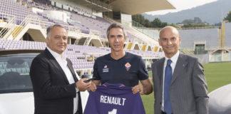 Renault sponsor Fiorentina Calcio