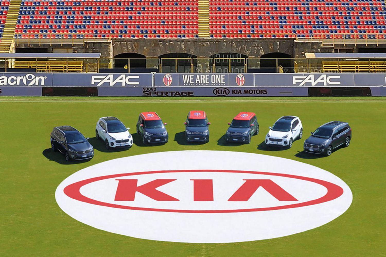 KIA sponsor Bologna Calcio