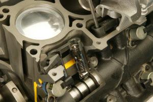 Cylinder shut off on the 5.7-liter HEMI V-8 discontinues fuel de