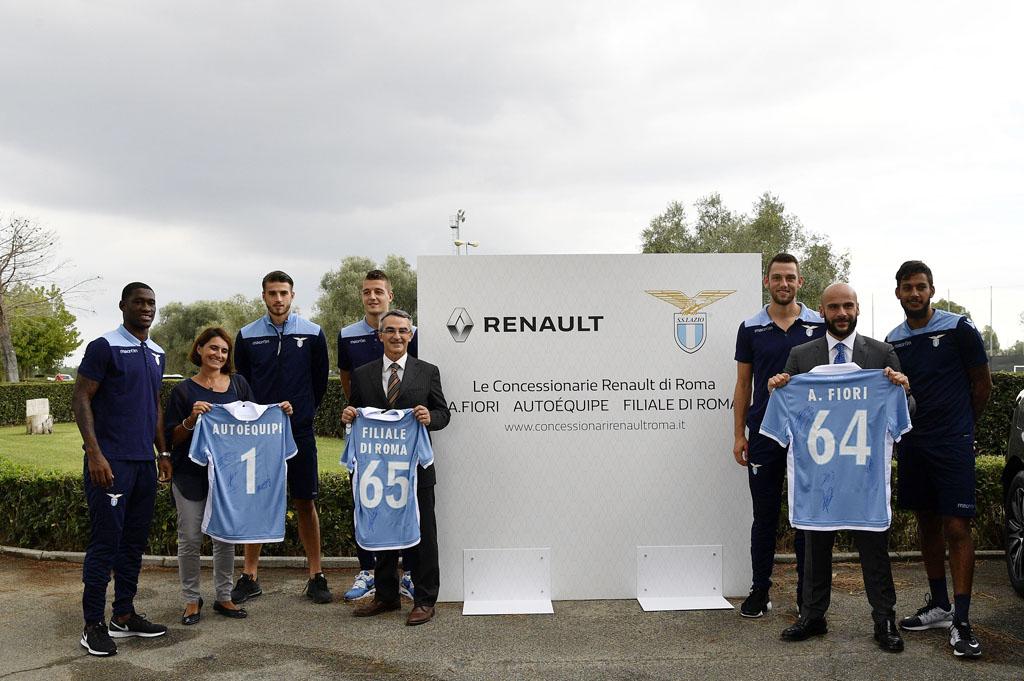 Renault Italia sponsor della Lazio