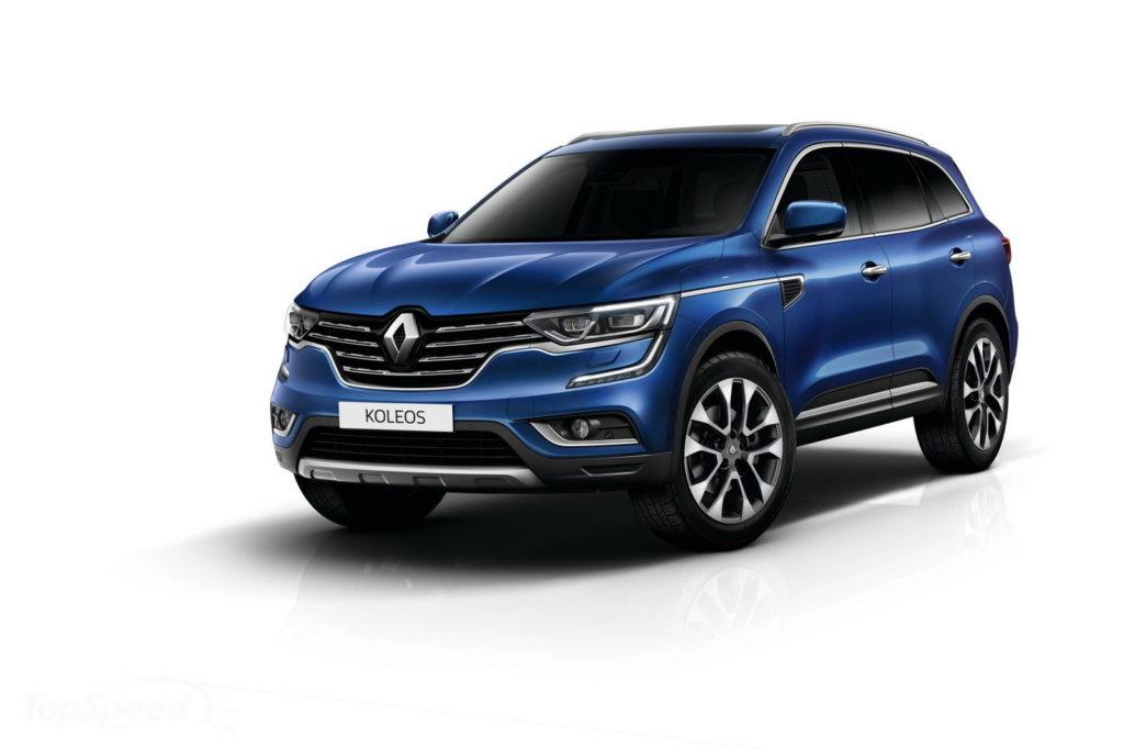 La Renault Koleos, parte del programma CFM-CD, opportunamente presentata in Cina, un grande mercato per Renault