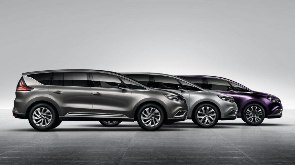 La Renault Espace, senza i moduli della nuova piattaforma non sarebbe più stato possibile produrla in numeri limitati a costi accettabili