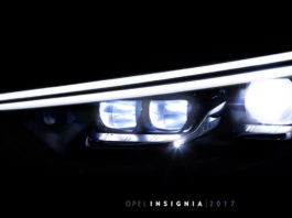 Opel Insignia IntelliLux LED® matrix light