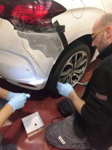 Carglass ripara i danni di carrozzeria