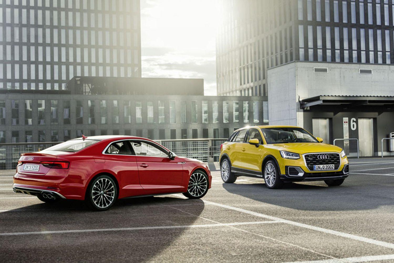 Audi A5 e Q2 crash test Euro NCAP
