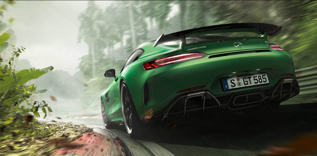 """Kampagne AMG GT R: """"Beast of the Green Hell"""" ; Campaign AMG GT R: """"Beast of the Green Hell"""";"""