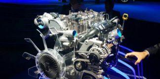 Isuzu 1.9L diesel engine