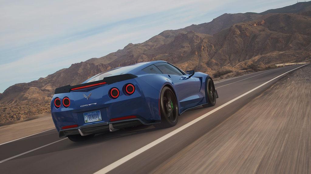 Corvette elettrica
