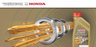 Accordo Castrol lubricants e Honda