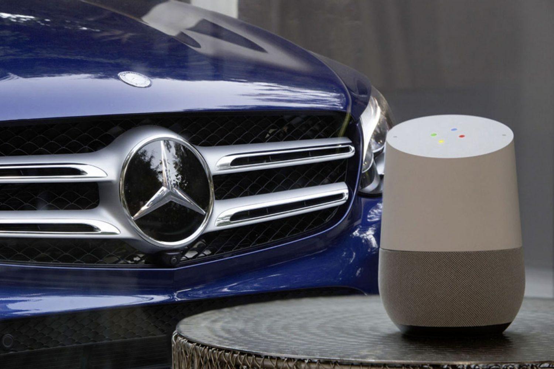 Mercedes-Benz e Google Home