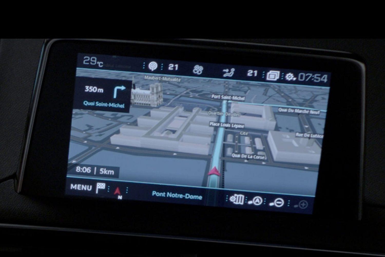 Peugeot 208 3d Connected Navigation