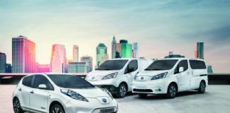 Gamma elettrico Nissan