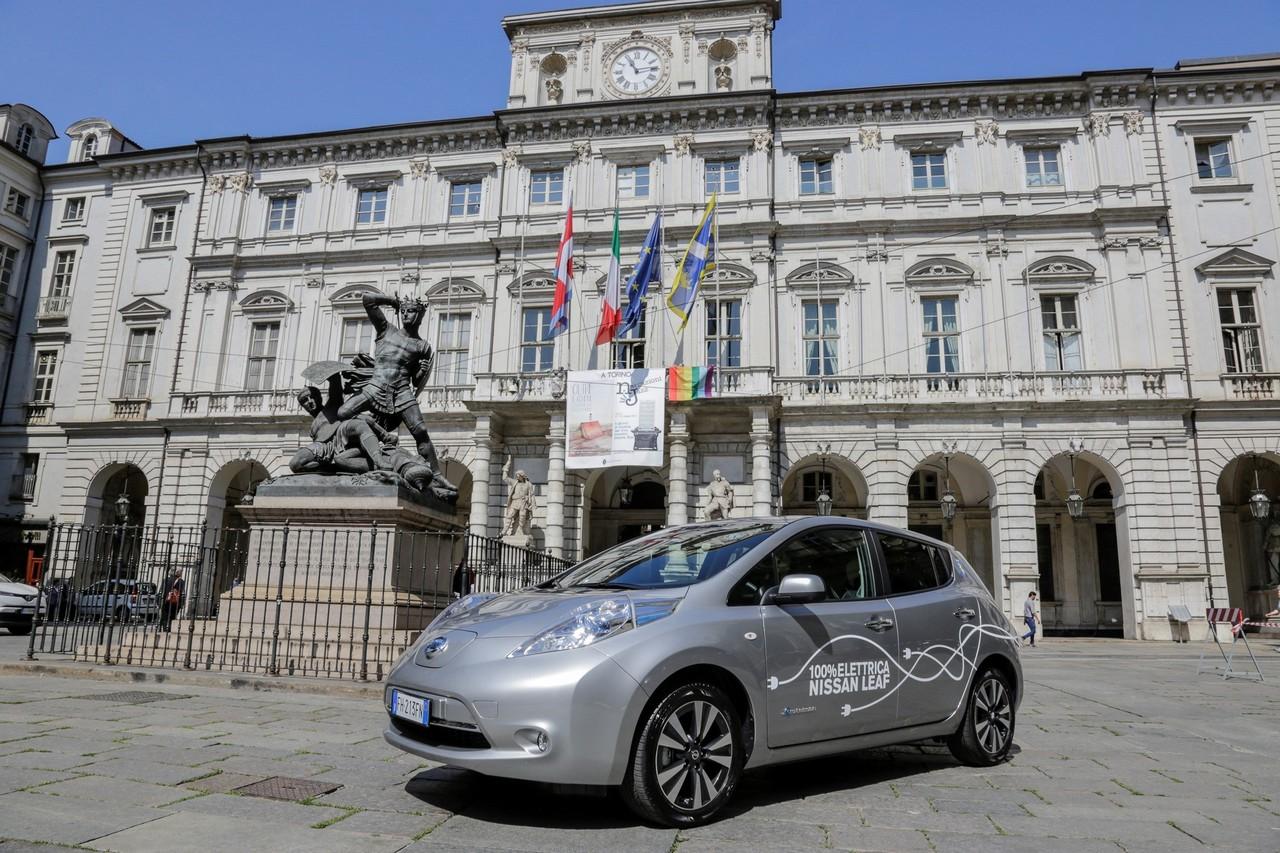 Nissan elettrizza Torino