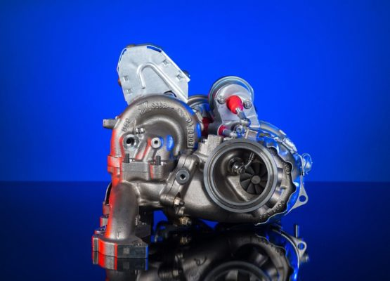 Turbocompressore a doppio stadio BorgWarner, progettato per i motori Volkswagen Euro 6. La versione 2.0L è stato il motore diesel più potente tra quelli della sua taglia.