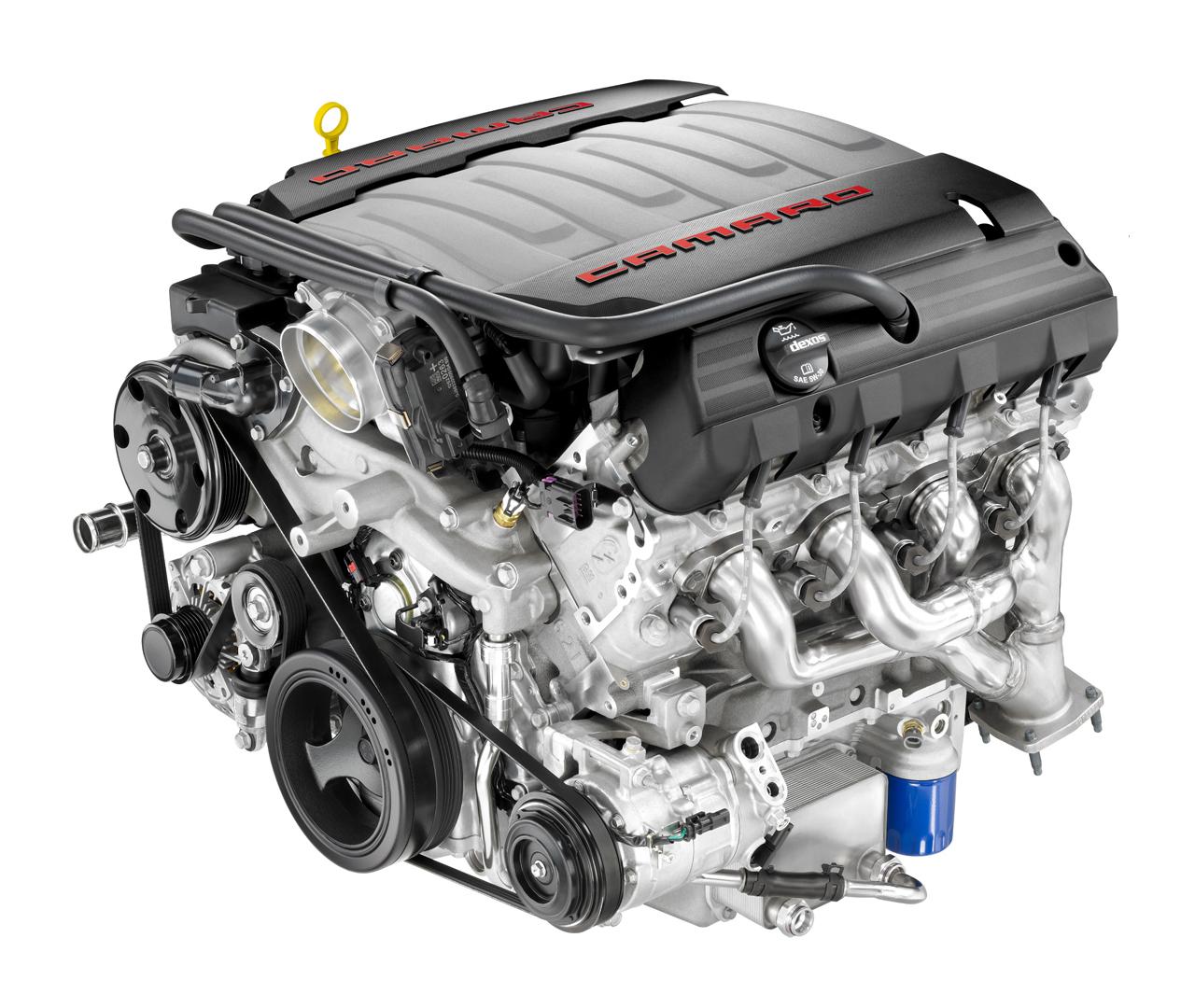 Il recentissimo 6.2L V8 LT1 ad iniezione diretta installato sulla Camaro 2016, capace di erogare 455 cavalli (339 kW) ed una coppia di ben 617 Nm (dati pubblicati da gm.com). Disponibili modelli nelle due varianti con cambio a 6 velocità manuale e 8 velocità automatico.