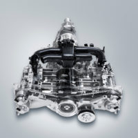 "Il motore ""flat"" Subaru Boxer."