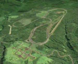 La nuova pista di Bifuka nell'Hokkaido, Giappone.