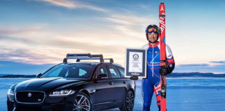 Jaguar XF Sportbrake_Guinness World Record